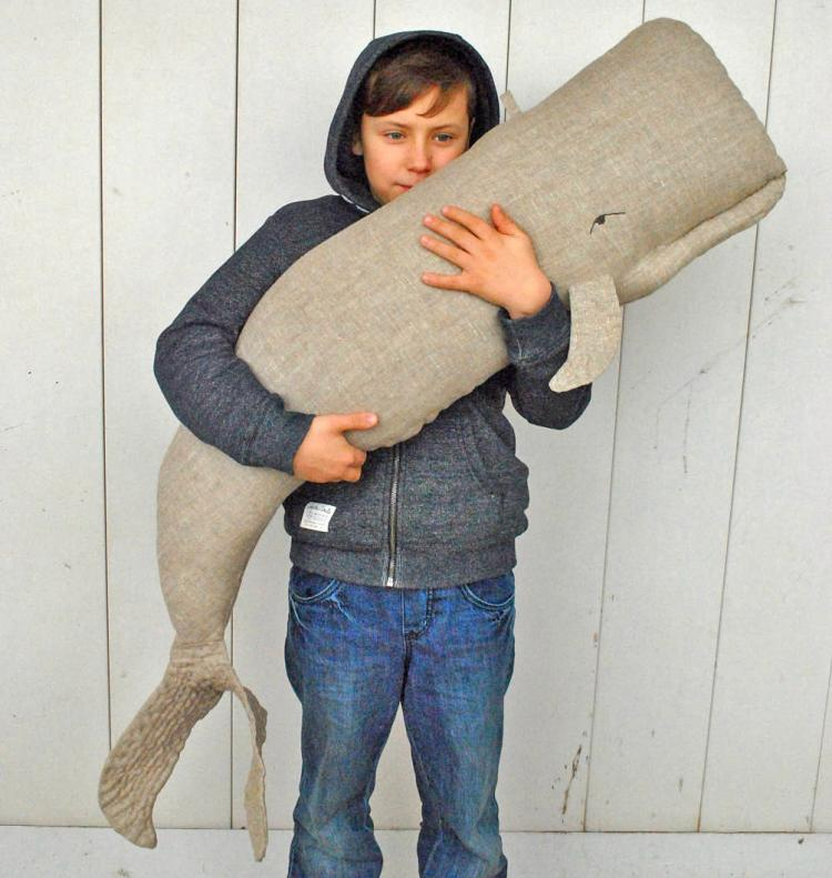 Giant Whale Pillow