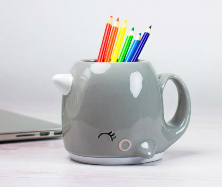 Cute Narwhal Coffee Mug