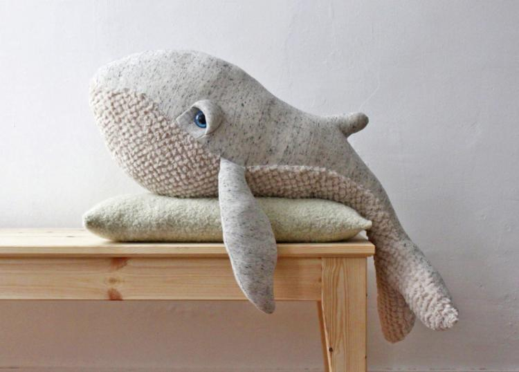 Giant Stuffed Whale