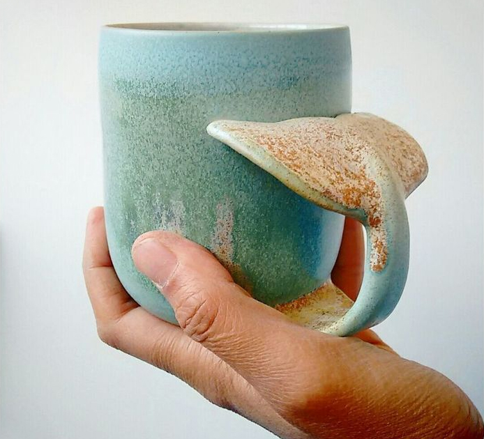 Whale Tail Coffee Mug
