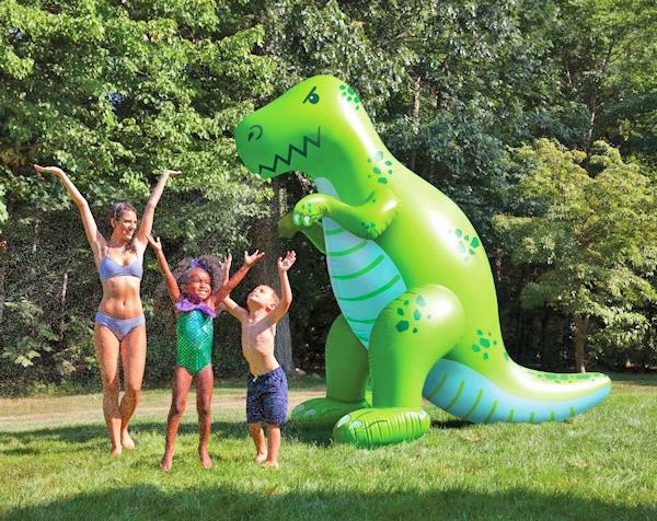 Dinosaur Shaped Inflatable Water Sprinkler