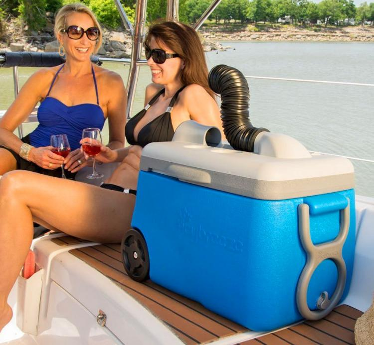 IcyBreeze: Cooler That Doubles as an Air-Conditioner