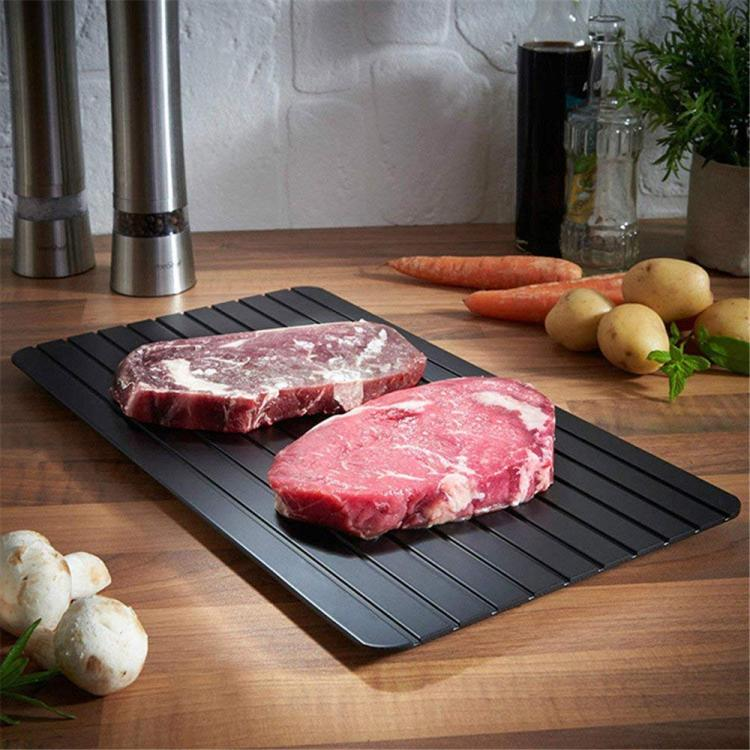 Quick Thawing Board - Thaws Frozen Meat In Fraction Of The Time