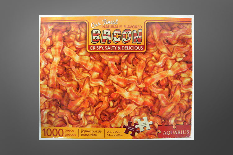 Bacon jigsaw puzzle - bacon puzzle