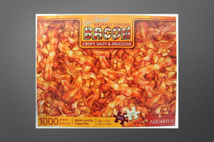 1000 Piece Bacon Jigsaw Puzzle