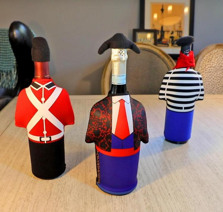 Wine Bottle Costume Covers