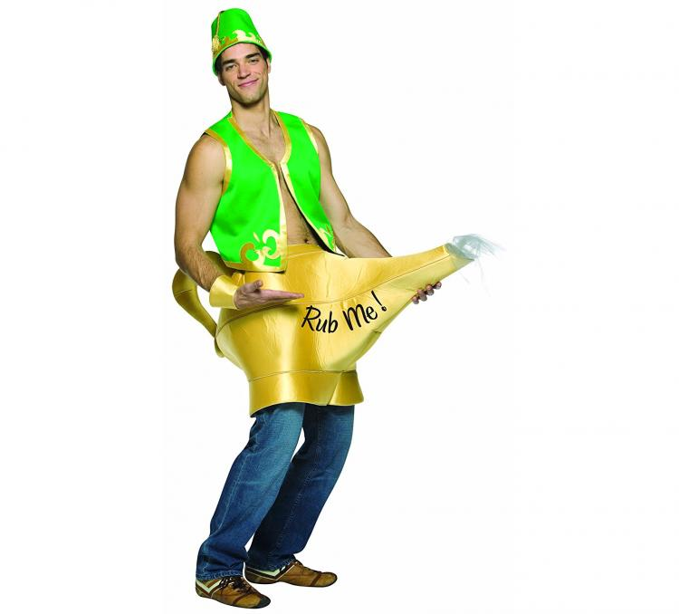 Rub Me Genie Lamp Costume