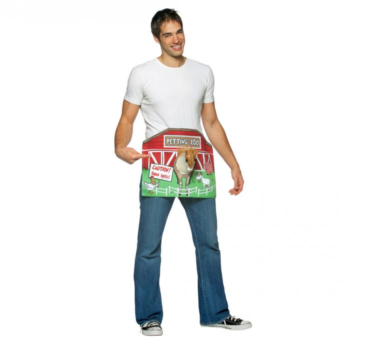 8 adult petting zoo funny offensive costume