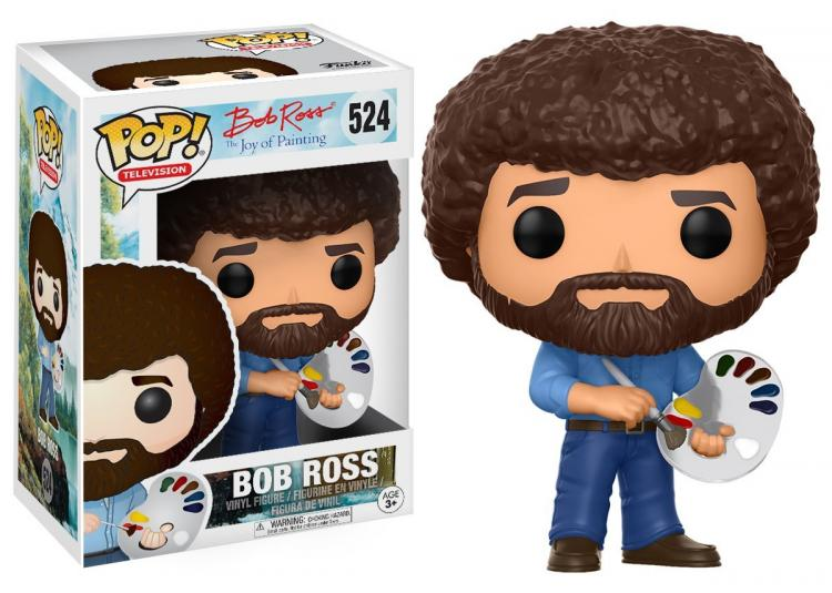 Bob Ross Collectible Figurine