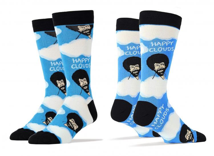 Bob Ross Dress Socks