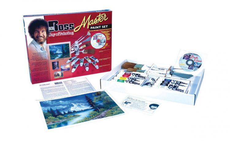 Official Bob Ross Paint Set