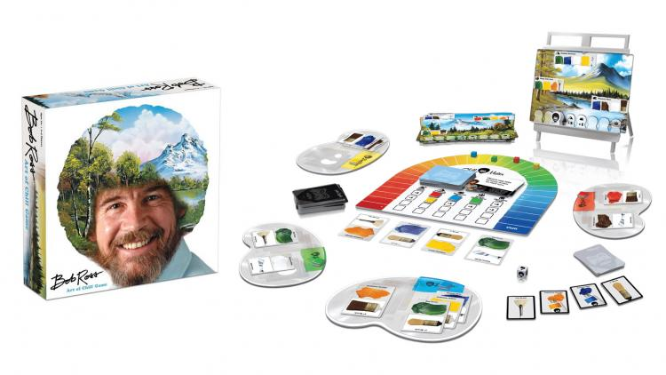 Bob Ross Board Game: The Art Of Chill