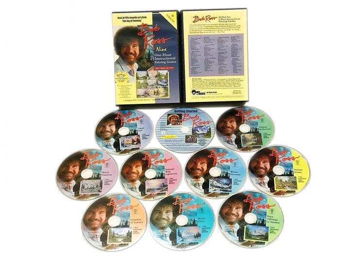 Entire Bob Ross The Joy Of Painting Series on DVD