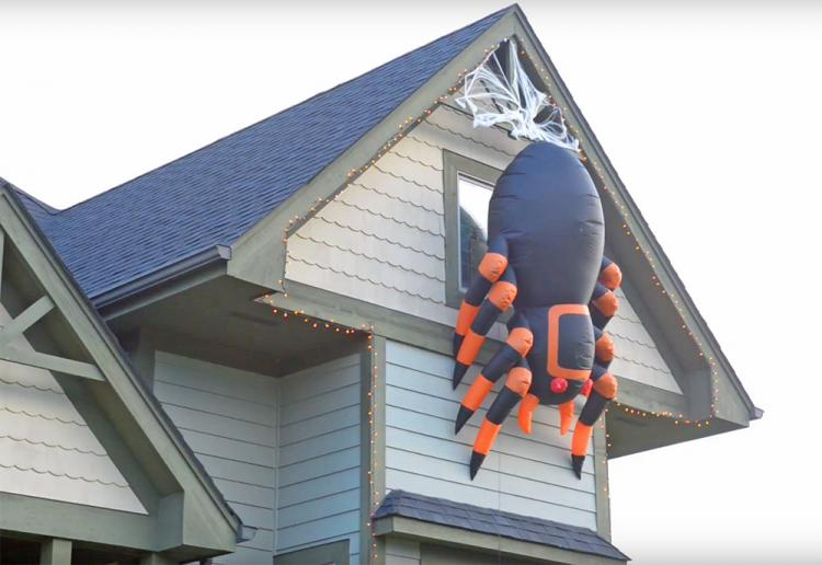 Giant 8 Foot Spider Halloween Decoration