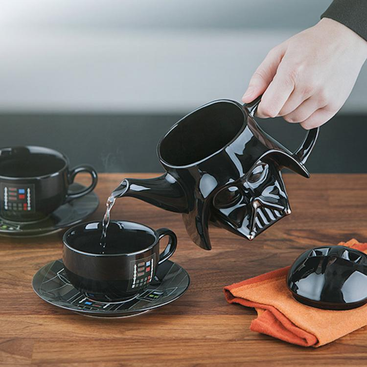 Star Wars Darth Vader Tea Pot Set