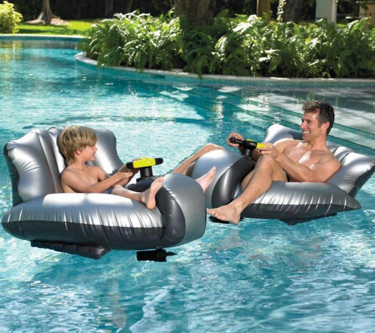 Motorized Bumper Car Boats