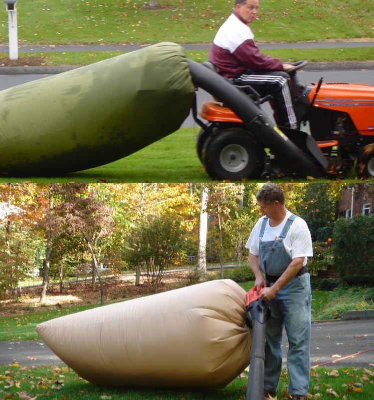 Giant Leaf Bag For Your Leaf Gathering Power Tools