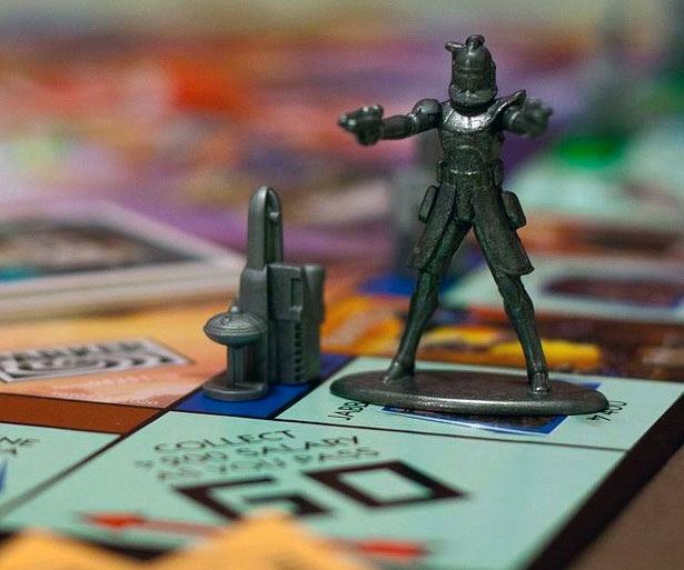 Star Wars Monopoly Edition