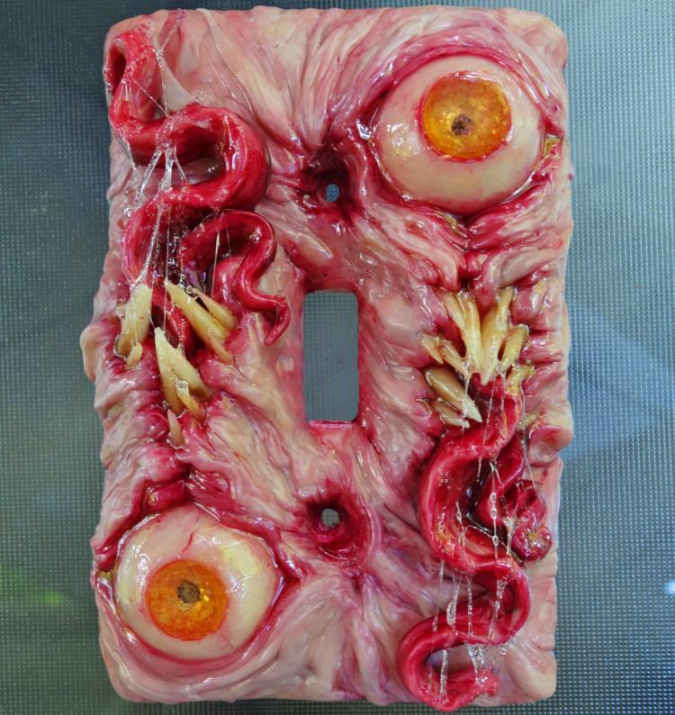 Monster Light Switch Cover