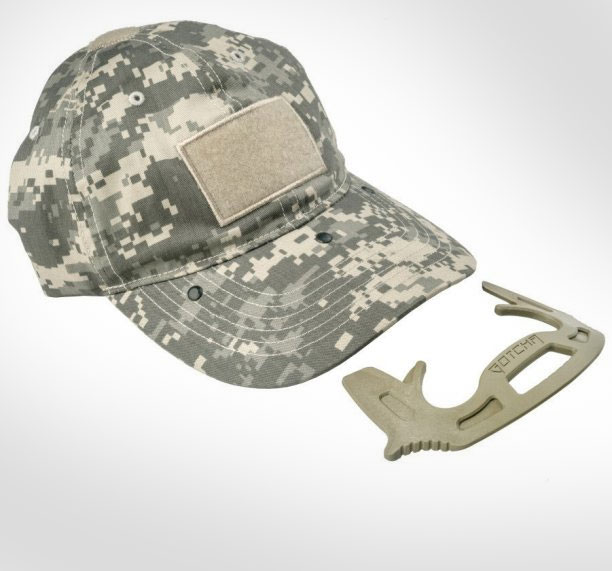 1 gotcha cap a hat with a hidden self defense tool