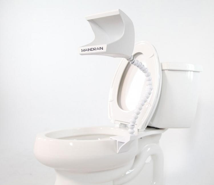 This Urinal Attachment For Your Toilet