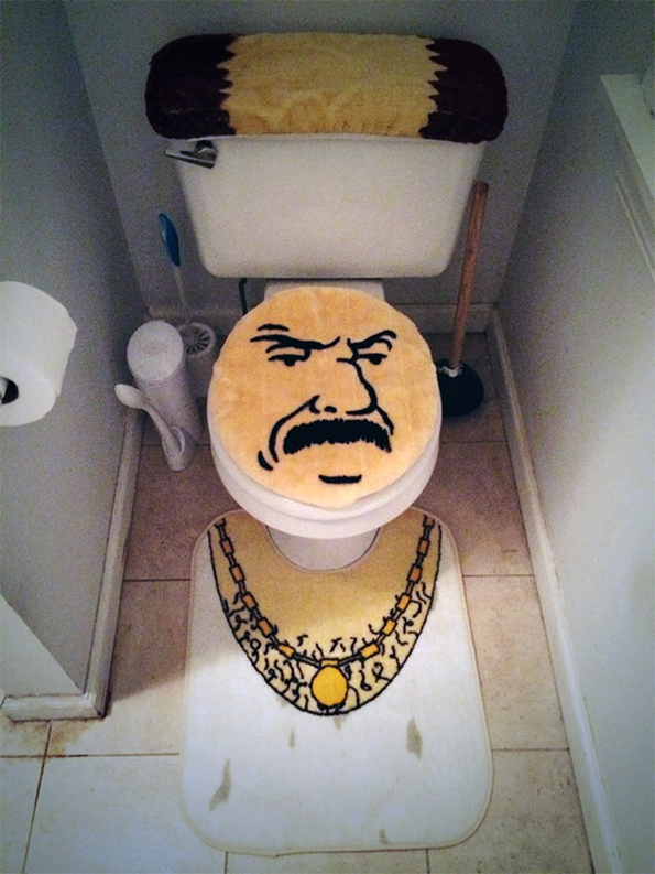 This Toilet Themed After Aqua Teen Hunger Force's Carl