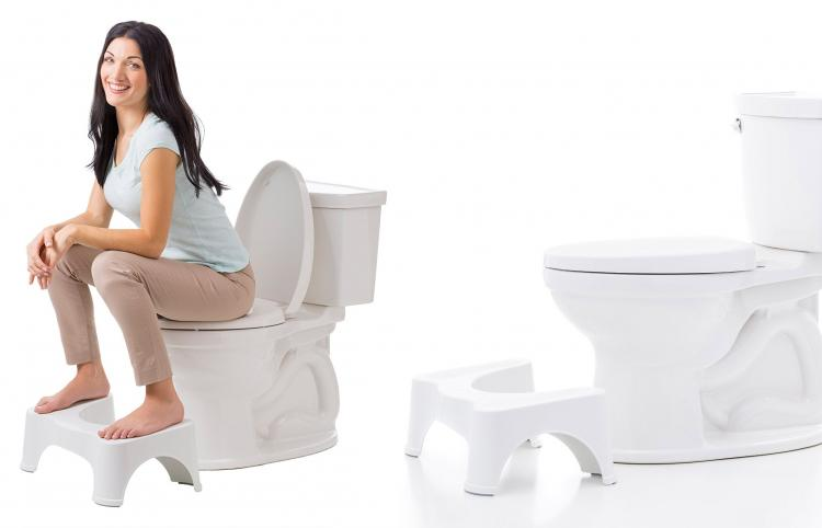Squatty Potty: Elevates Your Feet For Better Pooping Experience