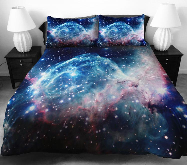 Galaxy Duvet and Bed Sheets