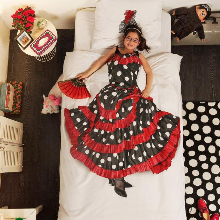 Flamenco Spanish Dancer Bed Sheets