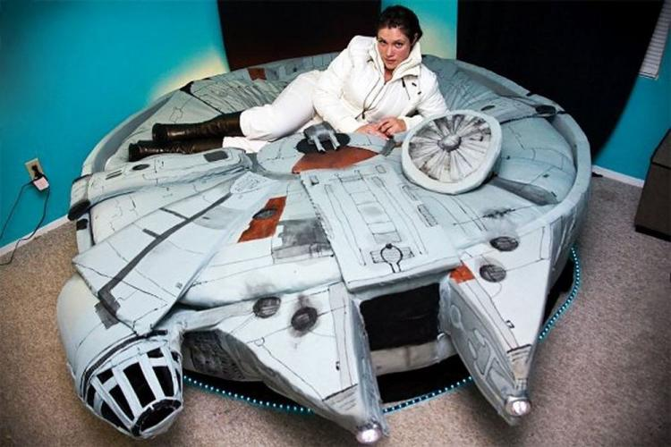 Star Wars Themed Millennium Falcon Bed Sheets