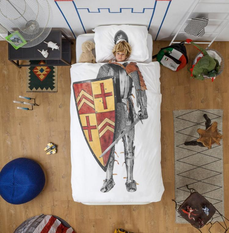 Middle Ages Knight Bed Sheets