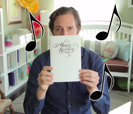 Prank Musical Birthday Card That Won