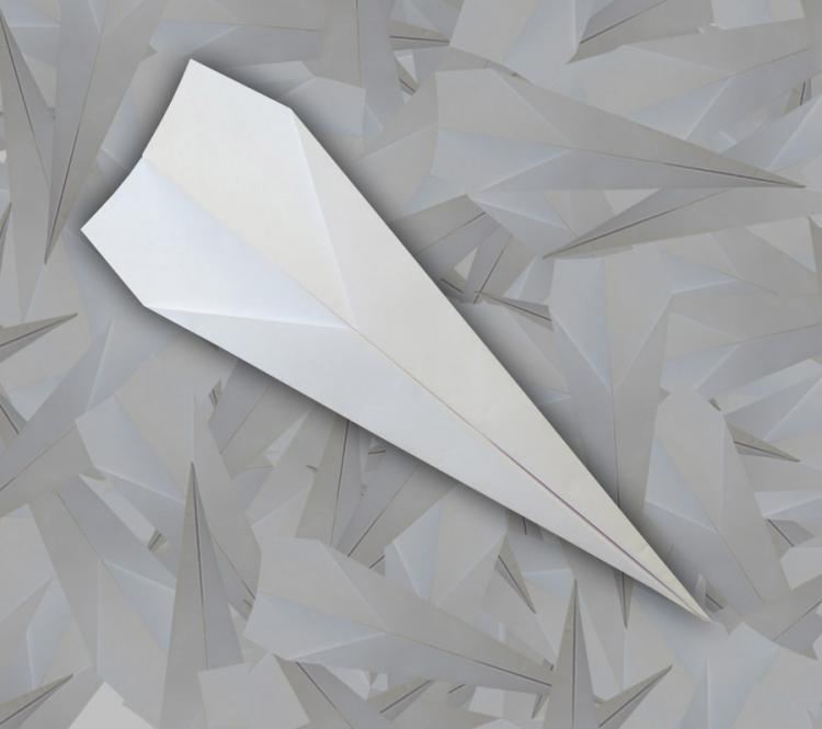500 Pre-Folded Paper Airplanes