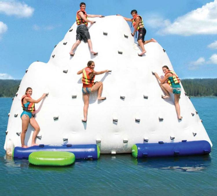 Giant Iceberg Inflatable Climbing Wall