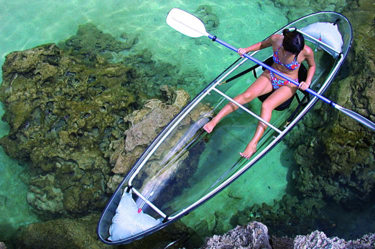 Transparent Canoe/Kayak