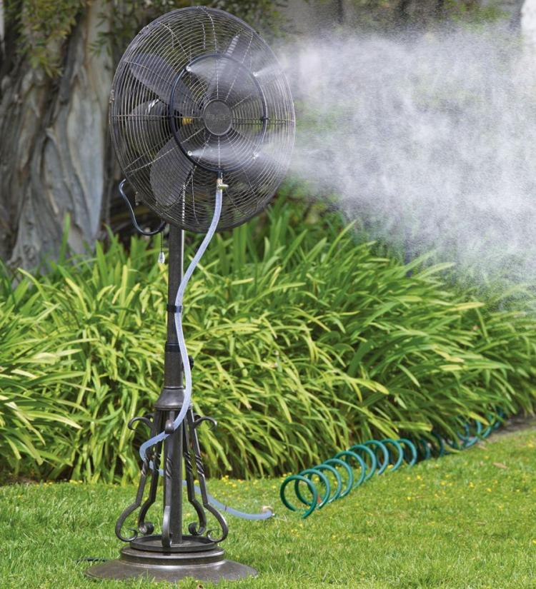 Outdoor Misting Fan Kit