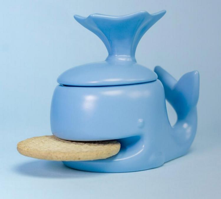 Cute Whale Mug That Holds Your Cookie For You