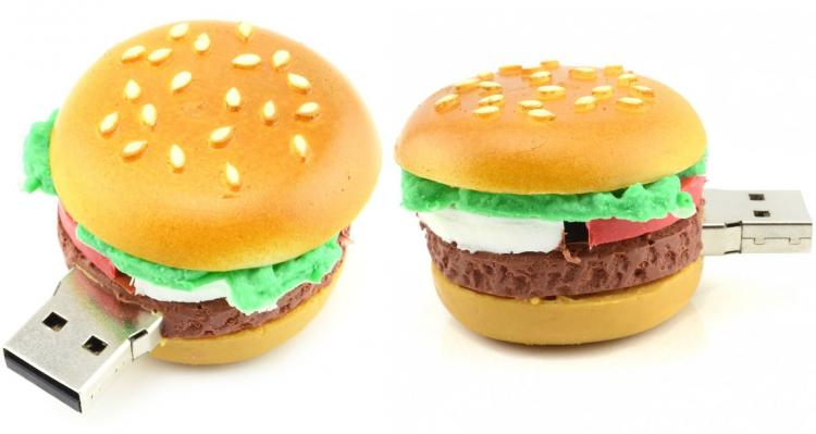 Cheeseburger 16GB USB Flash Drive