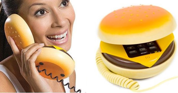 Cheeseburger Phone
