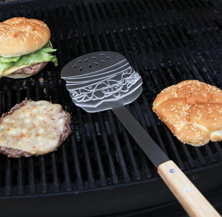 Cheeseburger Shaped BBQ Spatula
