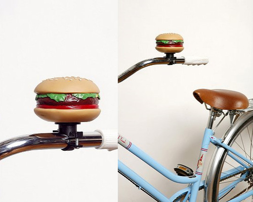 Cheeseburger Bike Bell