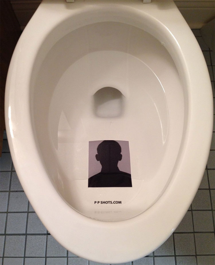 Toilet Target Stickers
