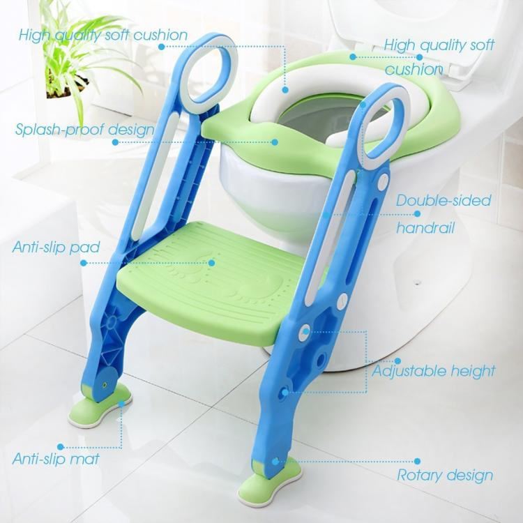 Toilet Trainer With Step Ladder
