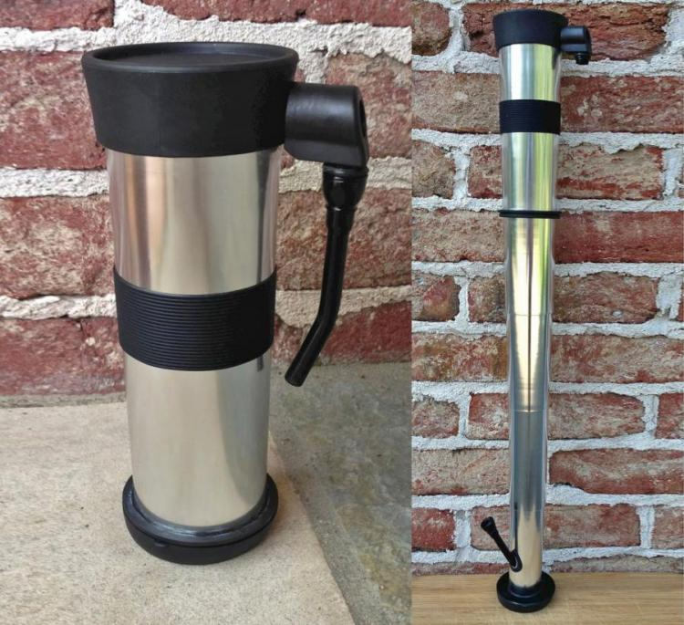 This Telescoping Coffee Mug Turns Into A Bong
