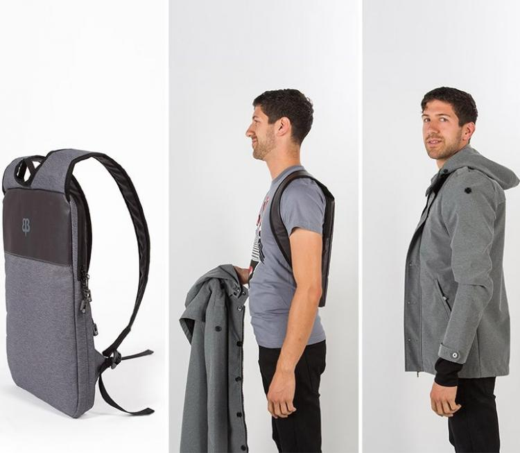 BetaBrand Ultra-Slim Laptop Bag Lets You Carry Your Computer Under Your Jacket