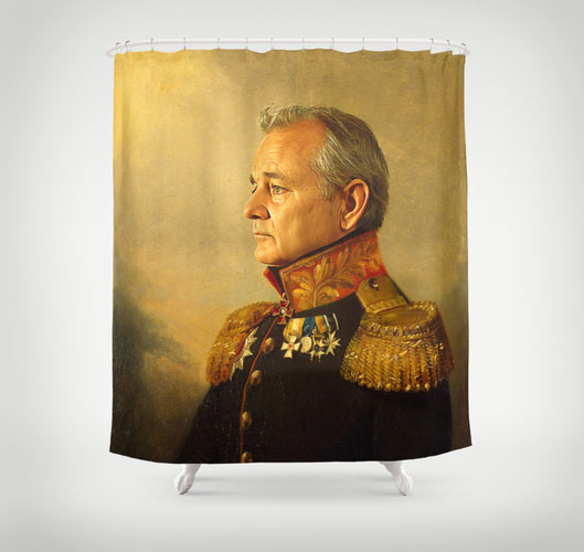 Bill Murray Shower Curtain