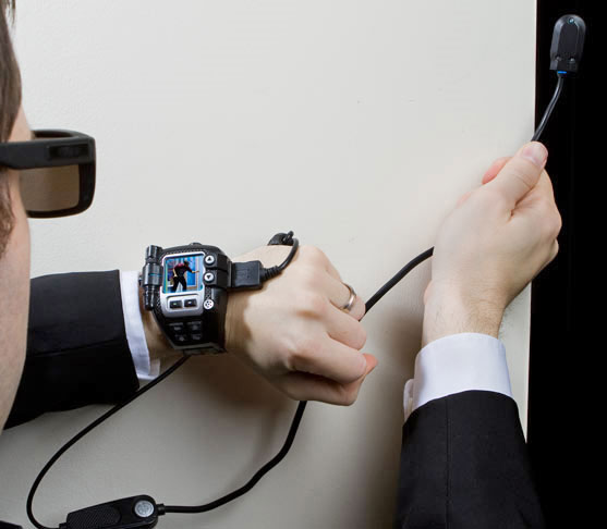 This Secret Spy Video Watch Lets You Peek Around Corners