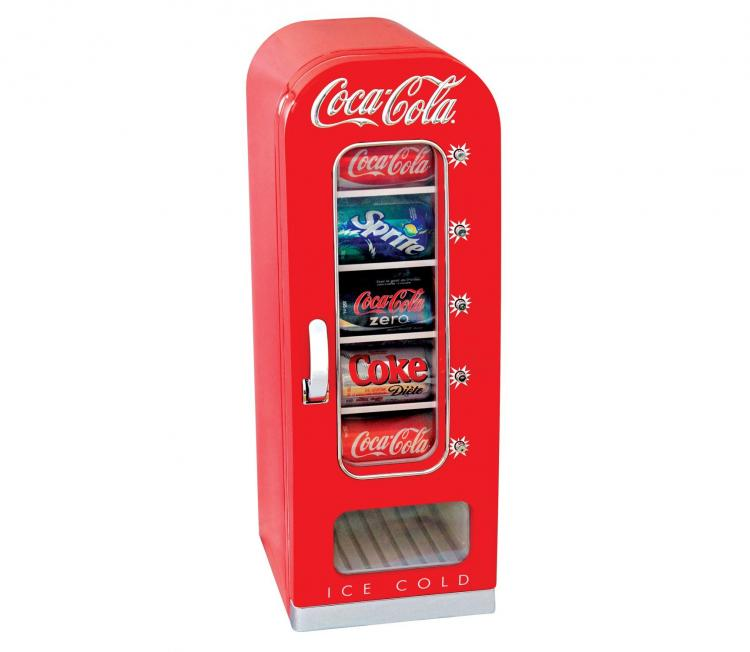 Mini Refrigerated Vending Machine For Your Desk