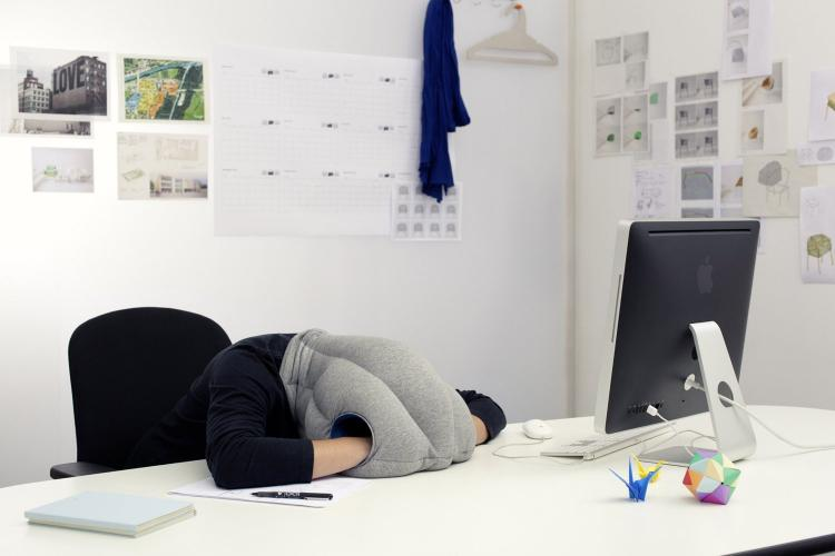 Ostrich Pillow: Lets You Nap Anywhere