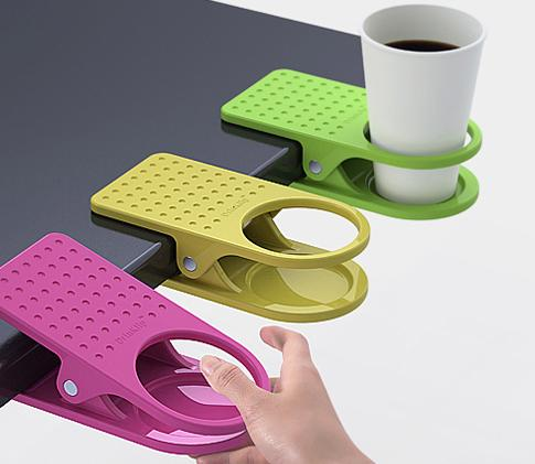 Clip On Table Cup Holder